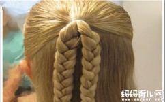【小女孩发型】简单又好看的小女孩发型绑扎方法